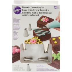 BROWNIE DEC SET, 12 PC