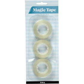 Magic tape 3pk