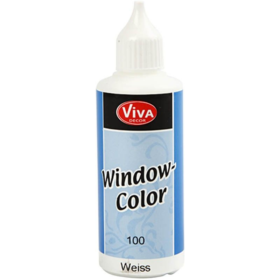 Window-Color 80ml, hvit