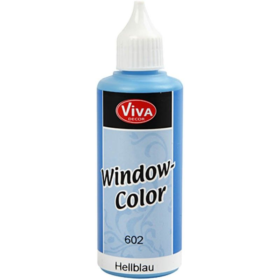 Window-Color 80ml, lys blå