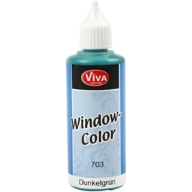 Window-Color 80ml, mørk grønn
