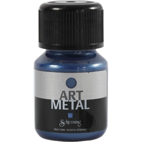 Art Metall 30ml, galaxy blå