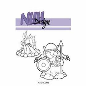 NHH Design Viking Woman Clear Stamps