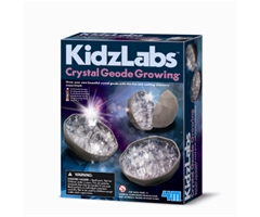 crystal geode growing