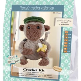 Crochet Kit - Jimmi ape