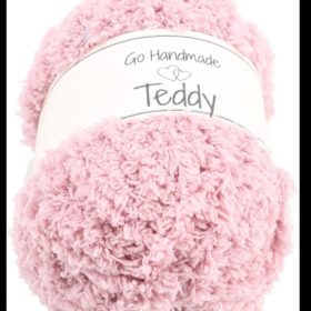 Teddy 50g, 100% polyester, old rose