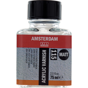 Amsterdam Acrylic Varnish Matt 115, 75ml