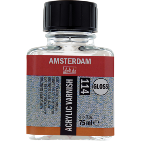 Amsterdam Acrylic Varnish Gloss 114, 75ml