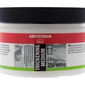 Amsterdam Acrylic Thickening Medium 040 250ml