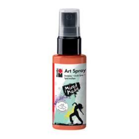 Marabu Mixed Media art spray - 023 orange