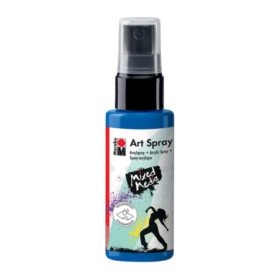 Marabu Mixed Media art spray - 057 gentian blå
