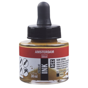 Amsterdam Ink 30ml - 234 Raw Sienna