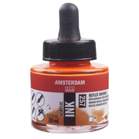 Amsterdam Ink 30ml - 257 Relex Orange
