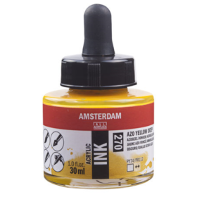 Amsterdam Ink 30ml - 270 Azo Yellow Dep