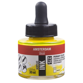 Amsterdam Ink 30ml - 275 primary yellow