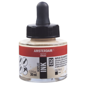 Amsterdam Ink 30ml - 292 Naples Yellow Red