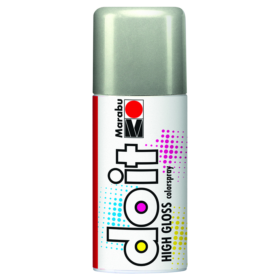 Marabu DoIt colorspray 150ml - 482 high gloss silver