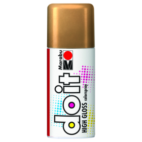 Marabu DoIt colorspray 150ml - 484 high gloss gold