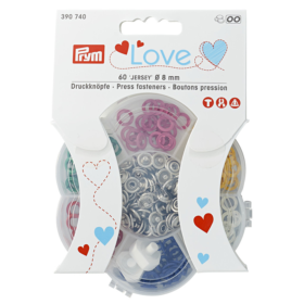 Prym Love – Trykknapp Jersey 8mm