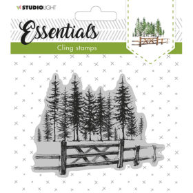 Studio Light Cling Stamp Essentials – Christmas 11