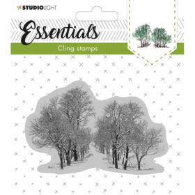 Studio Light Cling Stamp Essentials – Christmas 13