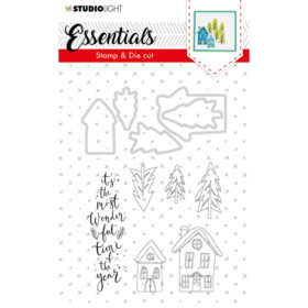 Studio Light Stamp & Die Cut A6 Essentials – Nr.26
