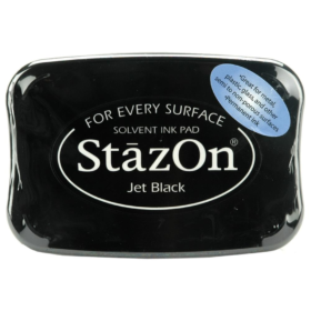 Stazon pad, 031 jet black