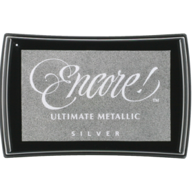 Encore metallic ink pad Silver