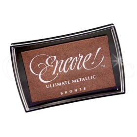Encore metallic ink pad Bronze