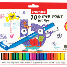 Bruynzeel KIDS – Super Point-tusjer 20stk