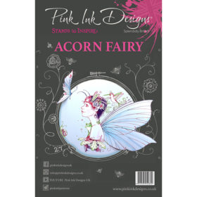 Pink Ink Designs A5 Clear Stamp Set – Acorn Fairy