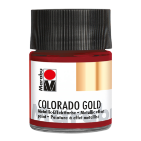 Marabu Colorado Gold 50ml – 732 metallic-red