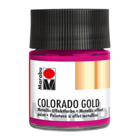 Marabu Colorado Gold 50ml – 735 metallic-magenta