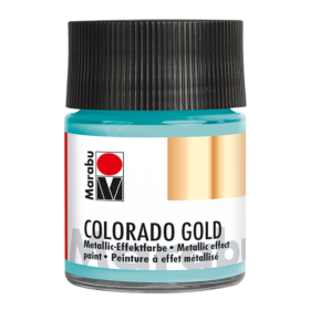 Marabu Colorado Gold 50ml – 758 metallic-turquoise