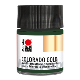 Marabu Colorado Gold 50ml – 768 metallic-dark green