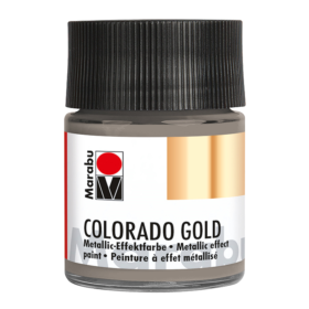 Marabu Colorado Gold 50ml – 772 metallic-anthracite