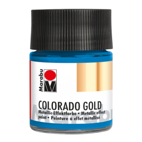 Marabu Colorado Gold 50ml – 792 metallic-petrol