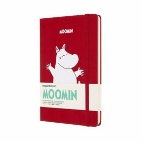 Moleskine Notebook LE Hard L – Linjert Mummi Red