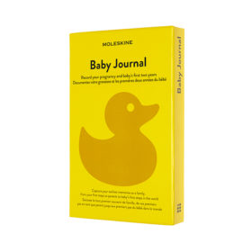 Moleskine Baby Journal Hard L – Yellow PMS 116c
