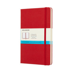Moleskine Classic Notebook Hard L – Dotted Scarlet Red