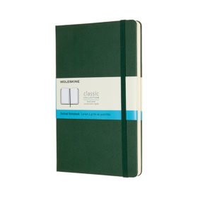Moleskine Classic Notebook Hard L – Dotted Myrtle Green
