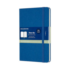 Moleskine Two-Go Notebook Hard M – Mixed Lapis Blue