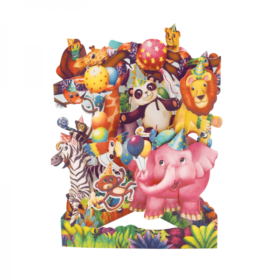 Swing Cards animal party