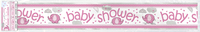 FoilBanner baby shower girl