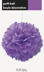 puff decor pretty purple
