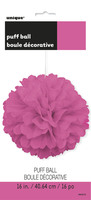 puff decor hot pink