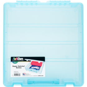 ArtBin super satchel box aqua