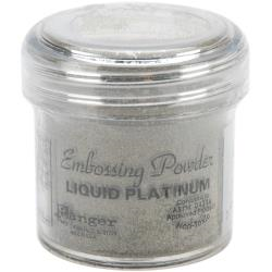 Embossing pwd.- liquid platinum
