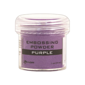 Embossing pwd.- purple