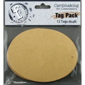 Fundamentals Oval Tags 12/Pkg